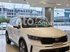 Bán Kia Sorento Signature AWD sản xuất 2021, màu trắng