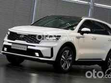 Bán xe Kia Sorento Luxury sản xuất năm 2021, màu trắng