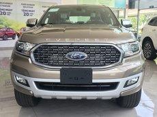 Khuyến mãi Ford Everest Titanium 2021 4x2 AT - giảm sốc tiền mặt + phụ kiện + BHVC giao ngay sản xuất năm 2021