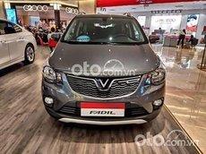 Cần bán xe VinFast Fadil bản tiêu chuẩn sản xuất 2021, màu xám, giá 336.5tr