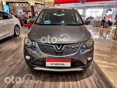 Cần bán xe VinFast Fadil bản nâng cao sản xuất 2021, màu xám