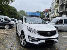 Cần bán lại xe Kia Sportage 2.0 AT sản xuất 2014, màu trắng, xe nhập, giá tốt