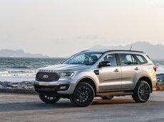 Ford Everest Sport 2021 khuyến mãi khủng giảm tiền mặt tặng full phụ kiện,  bảo hiểm vật chất