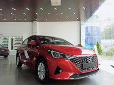Bán Hyundai Accent 1.4 AT tiêu chuẩn đời 2021, màu đỏ, giá 501.1tr