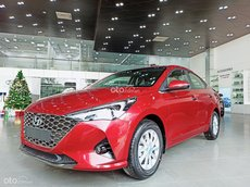 Bán Hyundai Accent 1.4 AT đặc biệt 2021, màu đỏ, giá 542.1tr
