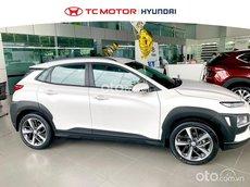 Bán Hyundai Kona 1.6 Turbo đời 2021, màu trắng, 750 triệu