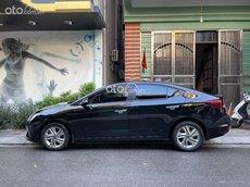 Bán Hyundai Elantra 1.6 AT 2019, màu đen như mới, 568tr