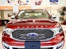 Ford Everest  4X4 Titanium 2021- sẵn sàng mọi hành trình, xe có sẵn giao ngay, hỗ trợ 80% giá trị xe