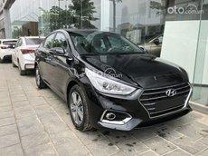 Bán ô tô Hyundai Accent 1.4AT 2021, màu đen, 499 triệu