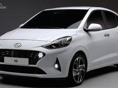 Bán Hyundai Grand i10 1.2 AT năm sản xuất 2021, màu trắng, giá chỉ 435 triệu