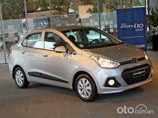 Cần bán xe Hyundai Grand i10 1.2 MT sản xuất 2021, màu bạc, 425 triệu