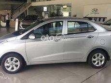 Bán ô tô Hyundai Grand i10 1.2 MT tiêu chuẩn sản xuất 2021, màu bạc, 380tr