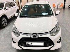 Bán xe Toyota Wigo 1.2MT năm sản xuất 2019, màu trắng, nhập khẩu số sàn