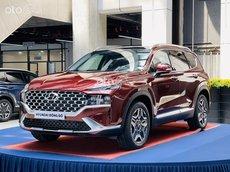 【Hyundai Santa Fe_2021】, KM tháng ngâu chỉ từ 995 tr, bank 85%, giao xe tại nhà