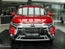 Mitsubishi Outlander 2021, siêu ưu đãi nhận xe với 350tr, ưu đãi lên đến 50tr hỗ trợ 50% thuế trước bạ, sẵn xe giao ngay