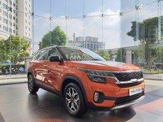 Cần bán Kia Seltos 1.4 Turbo Premium năm sản xuất 2021, màu nâu
