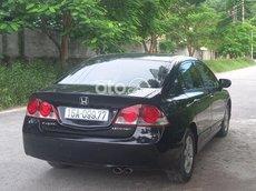 Bán xe Honda Civic đời 2007, màu đen xe gia đình