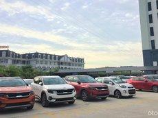 [Hà Nội] Bán xe Kia Seltos sẵn xe giao ngay, tặng full phụ kiện chính hãng, hỗ trợ trả góp 90%, trả trước 200tr