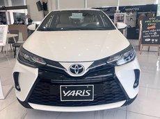 Bán ô tô Toyota Yaris G năm sản xuất 2021, màu trắng, nhập khẩu giá cạnh tranh