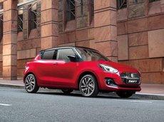 Bán Suzuki Swift sản xuất năm 2021, màu đỏ, nhập khẩu giá cạnh tranh