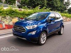 Bán Ford EcoSport 1.5L AT Trend năm sản xuất 2021, màu xanh lam, 603 triệu
