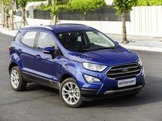 Bán Ford EcoSport 1.5L AT Titanium sản xuất 2021, màu xanh lam, 646tr