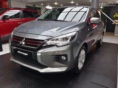 Bán Mitsubishi Attrage MT đời 2021, màu xám, xe nhập