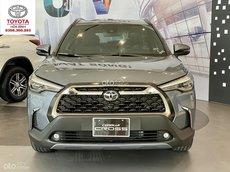 Toyota Corolla Cross năm 2021_ trả góp từ 270 triệu, giảm tiền mặt+ quà tặng hấp dẫn trong T9 thủ tục nhanh gọn