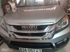 Bán Isuzu mu-X sản xuất 2017, màu bạc, nhập khẩu nguyên chiếc