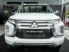 Cần bán xe Mitsubishi Pajero Sport 4x2 đời 2021, màu trắng