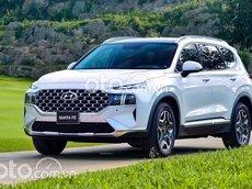 Bán xe Hyundai Santa Fe 2021, màu trắng