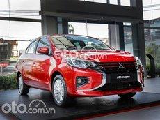 Cần bán Mitsubishi Attrage CVT năm sản xuất 2021, màu đỏ, xe nhập, giá 460tr