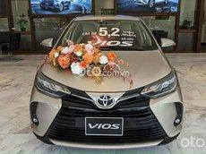 Bán Toyota Vios 2021 giảm giá tiền mặt khủng kèm full phụ kiện, trả góp 80% , giao ngay đủ màu các phiên bản