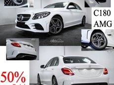 Mercedes-Benz C180 AMG ưu đãi 50% trước bạ