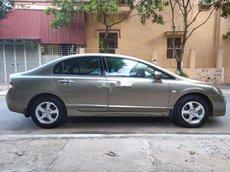 Cần bán xe Honda Civic năm 2009, màu xám