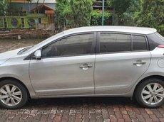 Cần bán lại xe Toyota Yaris sản xuất 2014, màu bạc, nhập khẩu xe gia đình