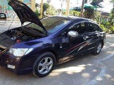 Cần bán lại xe Honda Civic sản xuất 2008, màu xanh lam chính chủ, giá tốt