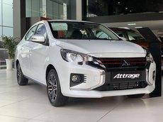 Bán Mitsubishi Attrage 2021, màu trắng, xe nhập