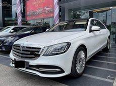 Bán Mercedes-Benz S450L màu trắng, triết khấu 10% giao ngay, siêu lướt
