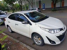 Cần bán Toyota Vios AT đời 2019, màu trắng, 445tr