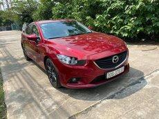 Cần bán lại xe Mazda 6 sản xuất 2016, màu đỏ, 575tr