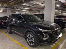 Cần bán xe Hyundai Santa Fe đời 2019, màu đen