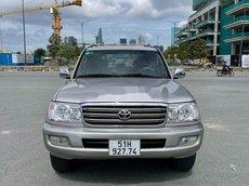 Cần bán Toyota Land Cruiser sản xuất năm 2004, màu xám