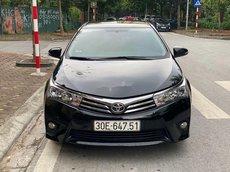 Cần bán lại xe Toyota Corolla Altis 1.8G đời 2016, màu đen
