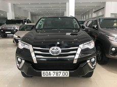 Cần bán gấp Toyota Fortuner AT đời 2020, màu đen