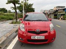 Cần bán Toyota Yaris 1.3AT sản xuất 2009, màu đỏ, nhập khẩu