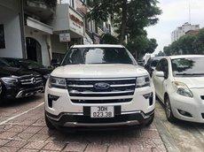 Ford Explorer 2.3L Ecoboost Limited màu trắng sản xuất 2018
