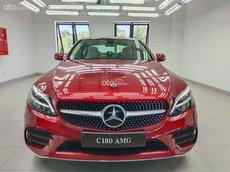 Mercedes-Benz C180 AMG 2021 - giảm 50% thuế trước bạ - tặng bảo hiểm - tặng phụ kiện - tặng 2 năm bảo dưỡng