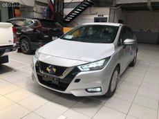 Bán Nissan Almera AT tiêu chuẩn sản xuất năm 2021, màu bạc, nhập khẩu nguyên chiếc