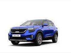 Bán Kia Seltos Luxury năm 2021, màu xanh lam, giá chỉ 669 triệu